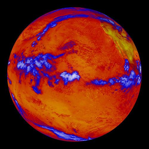 Warming Earth NASA