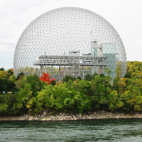 Buckminster Fuller Biosphere